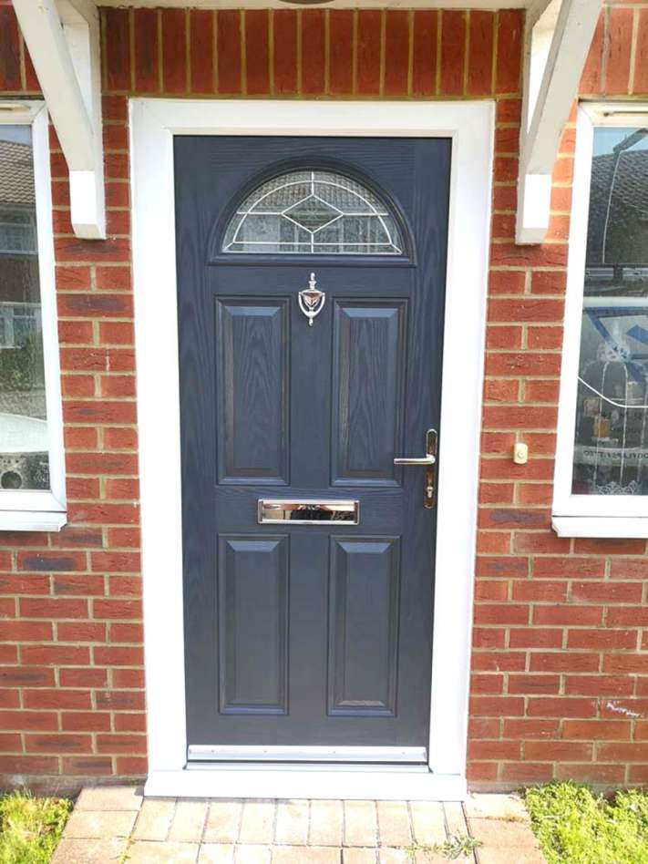 Front door fitted in Ashford