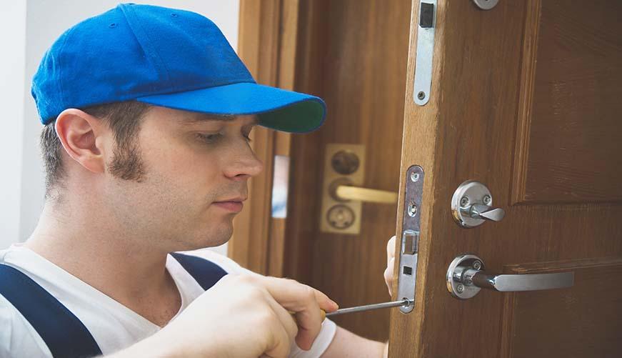door servicing and realignmen