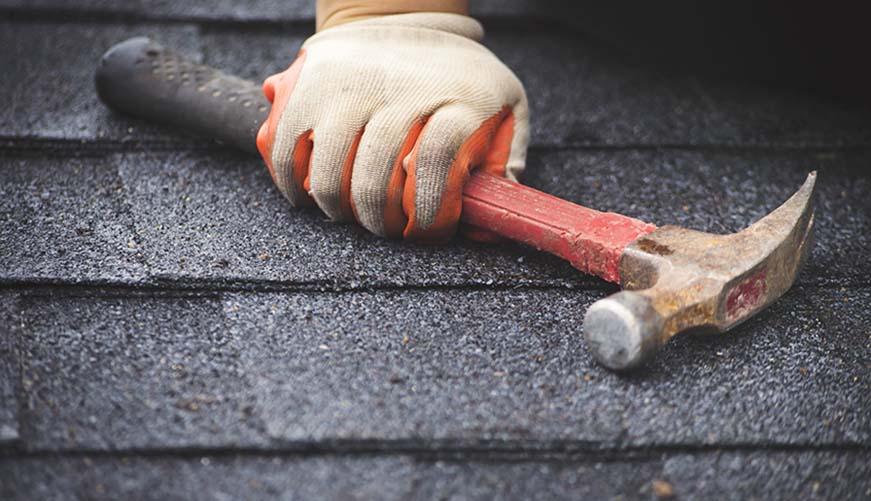 leaking roof repairs